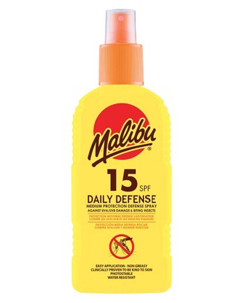 Malibu Daily Defense Spray SPF 15 Insect Repellent 200 ml