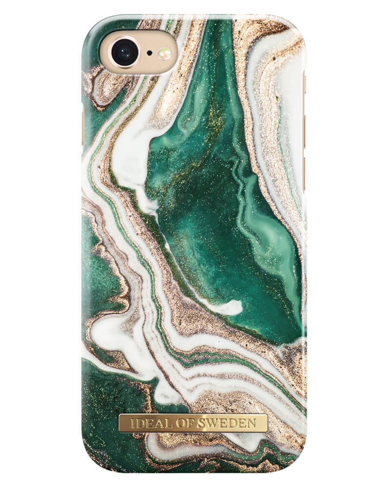 iDeal Of Sweden Cover Golden Jade Marble iPhone 6/6S/7/8