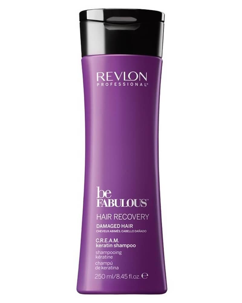 Revlon Be Fabulous Hair Recovery Damaged Hair Keratin Shampoo 250 ml