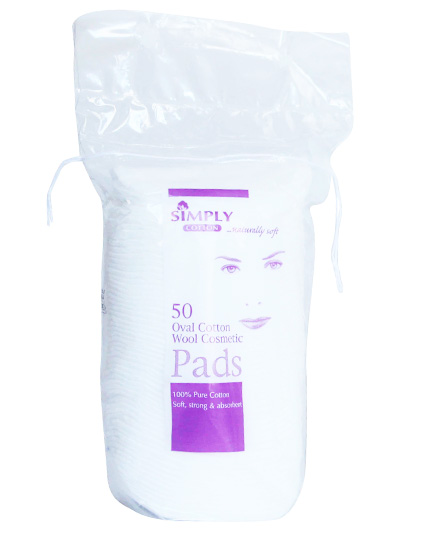 Simply Cotton - Oval Cotton Pads