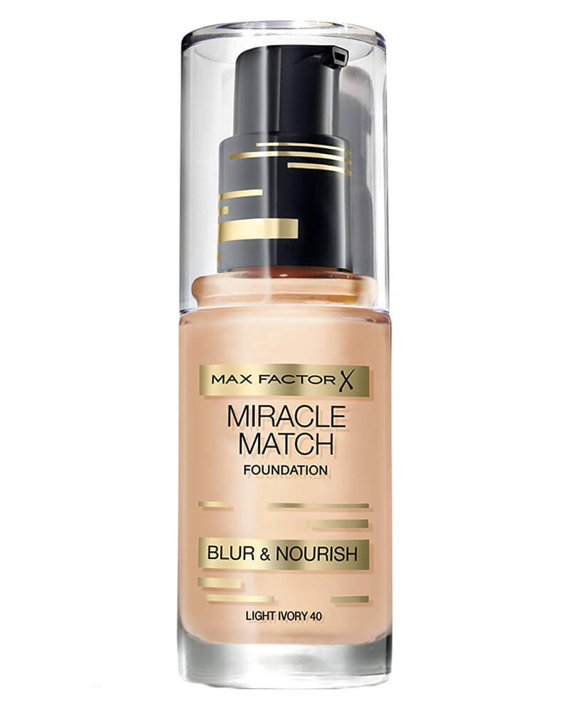 Max Factor Miracle Match Foundation Light Ivory 40 30 ml