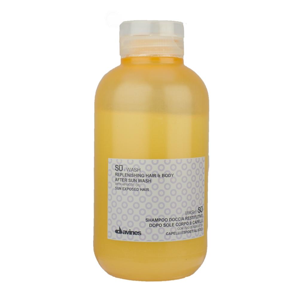 Davines SU Wash - Replenishing Hair & Body After Sun Wash (U) 250 ml