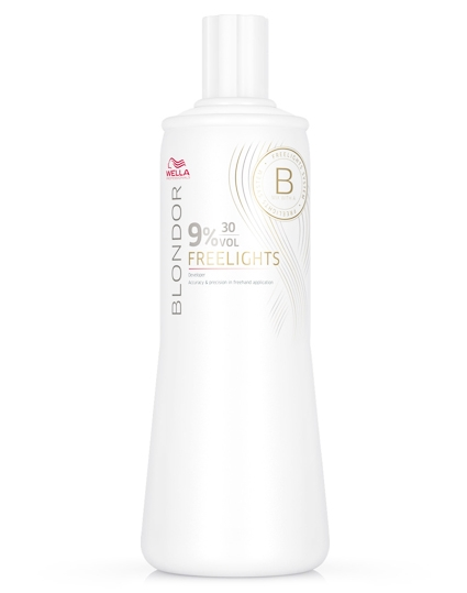 Wella Blondor Freelights Oxydant 9%, 30Vol 1000 ml