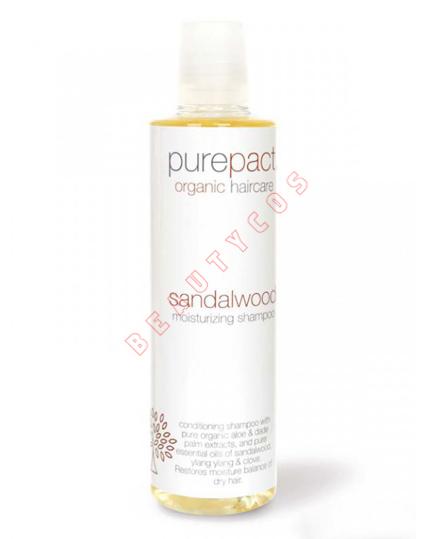PurePact Sandalwood Moisturizing Shampoo (U) 250 ml
