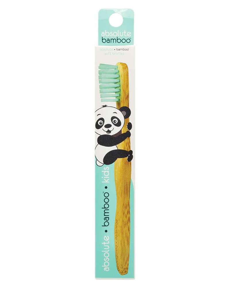 Absolute Bamboo Kids Soft Toothbrush Mint