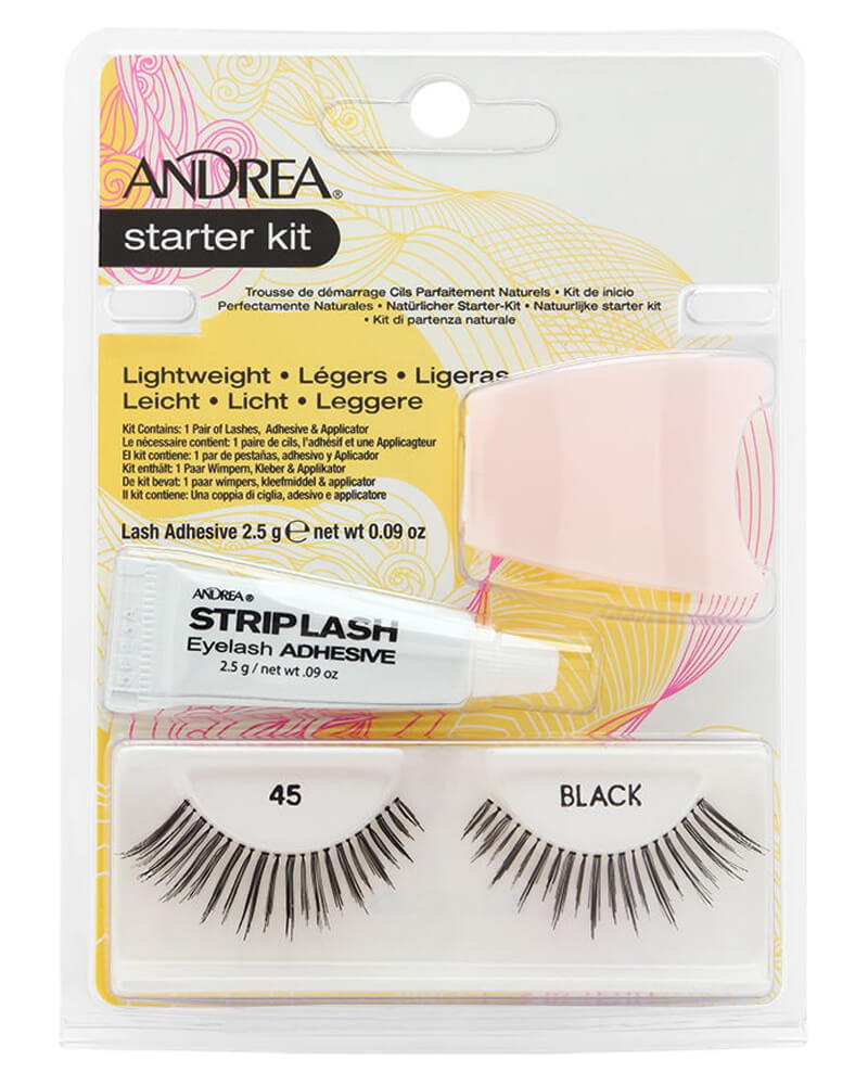 Andrea Starter Kit Lashes Black 45