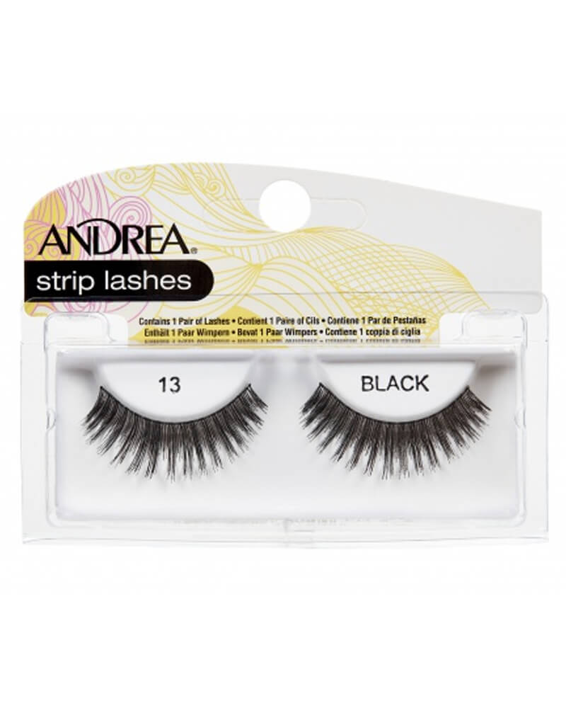 Andrea Strip Lashes Black 13