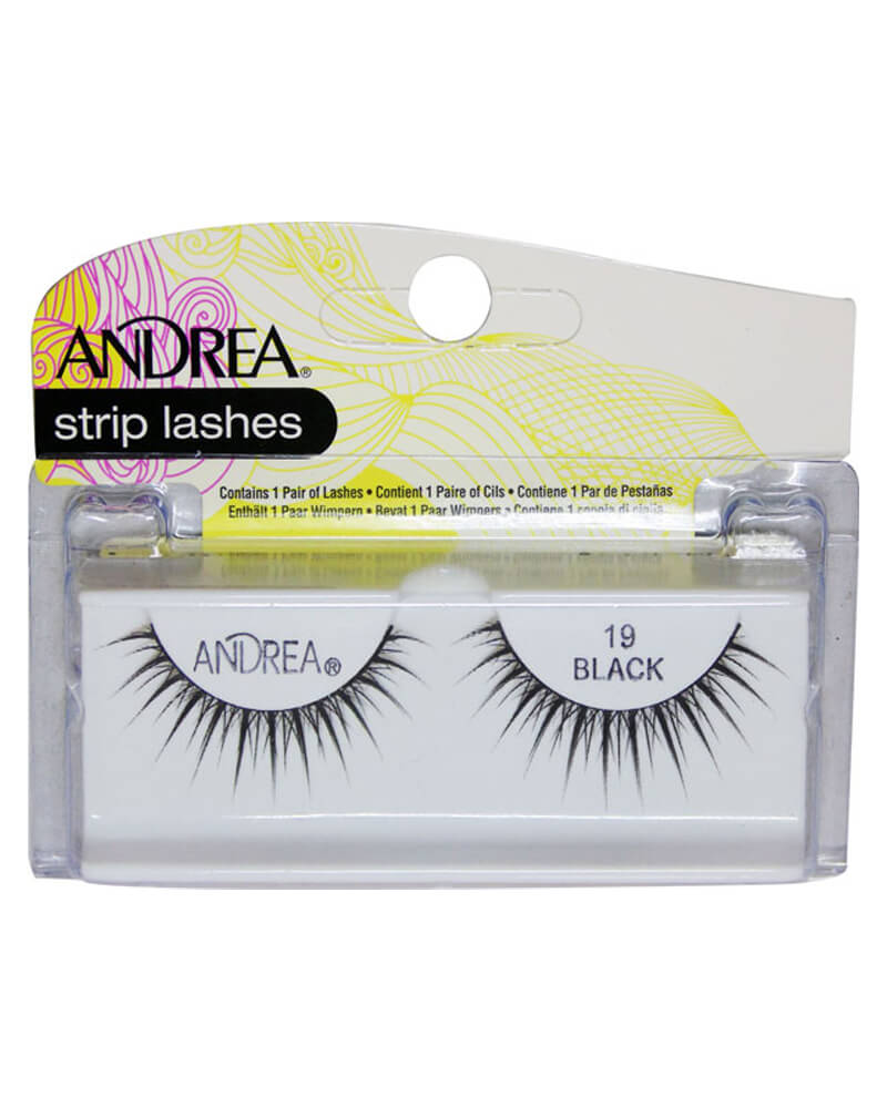 Andrea Strip Lashes Black 19