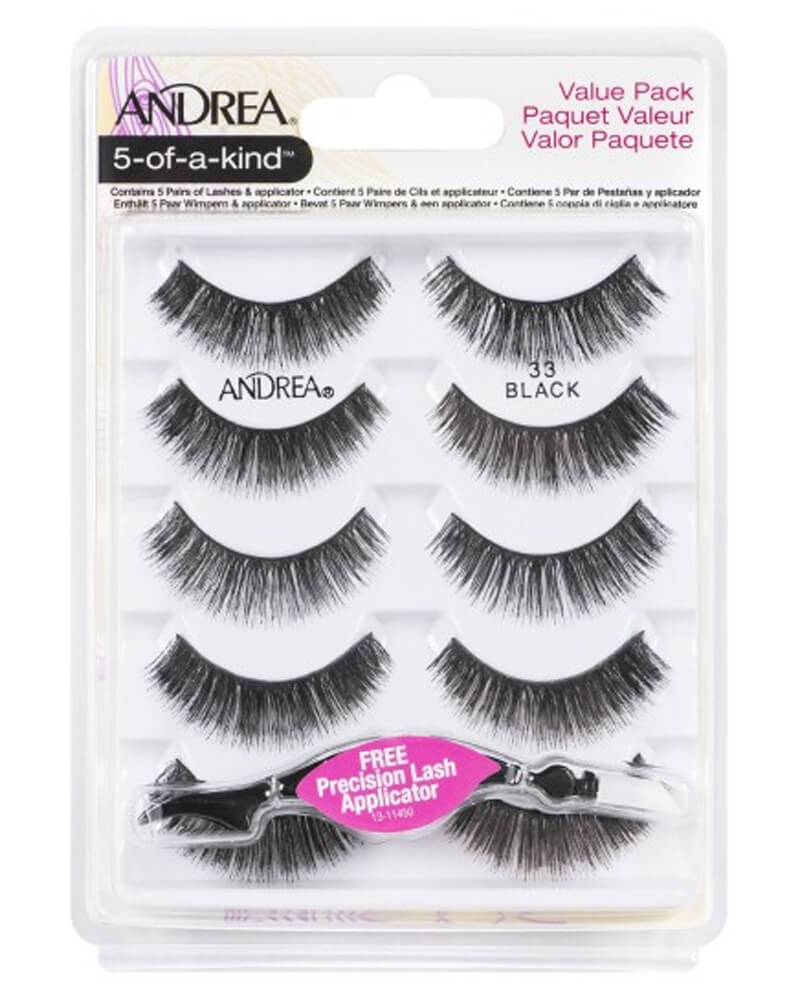 Andrea 5-Of-A-Kind Lashes Black 33