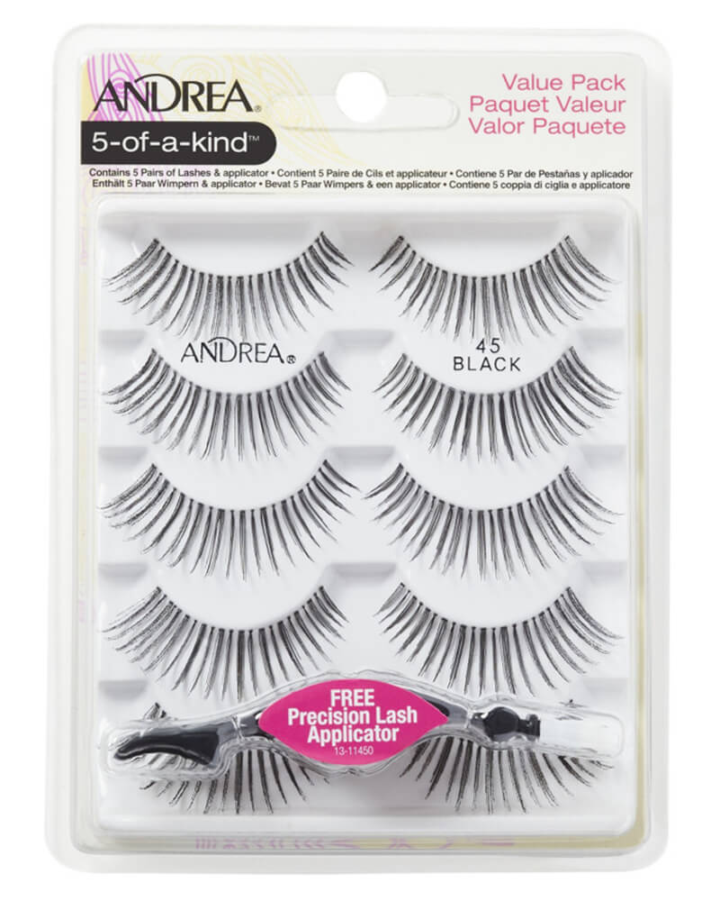 Andrea 5-Of-A-Kind Lashes Black 45