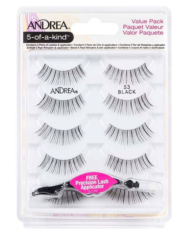 Andrea 5-Of-A-Kind Lashes Black 53