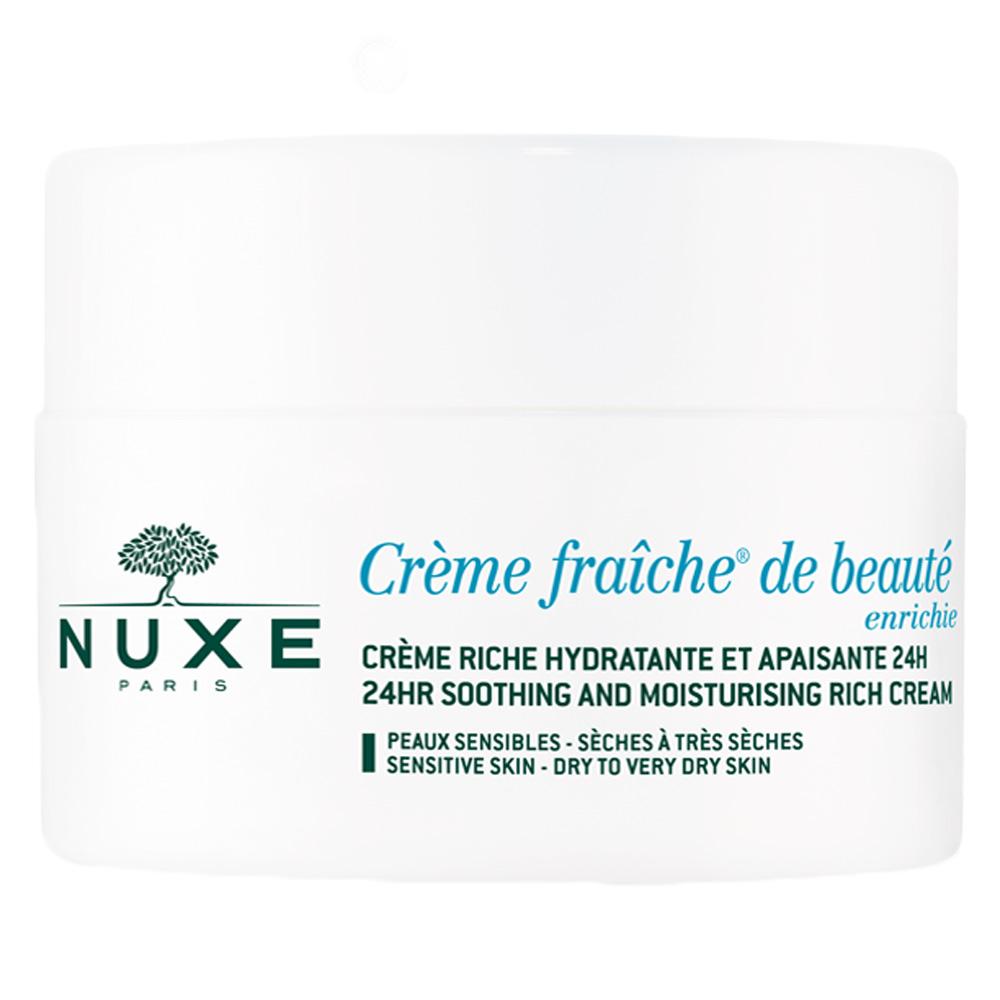Nuxe Creme Fraiche De Beaute 24Hr Soothing And Moisturising Rich Cream 50 ml