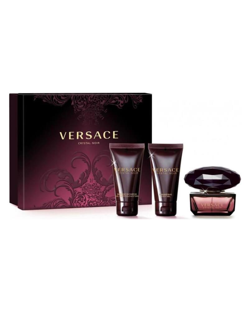 Versace Crystal Noir EDT Gift Set 50 ml