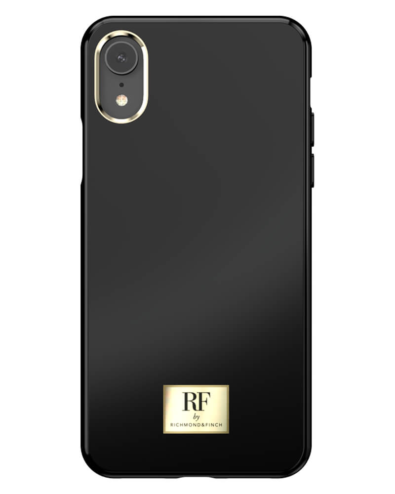RF By Richmond And Finch Black Tar iPhone Xr Cover