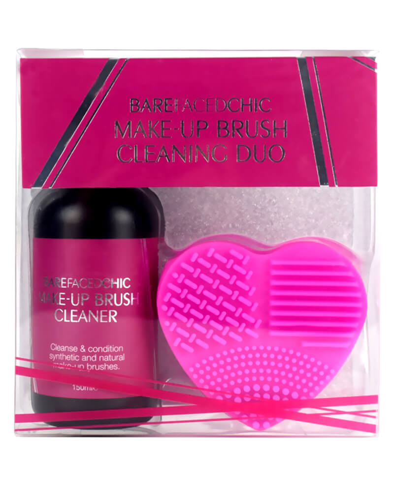 Bare Faced Chic Nail Make-up Brush Cleaning Duo