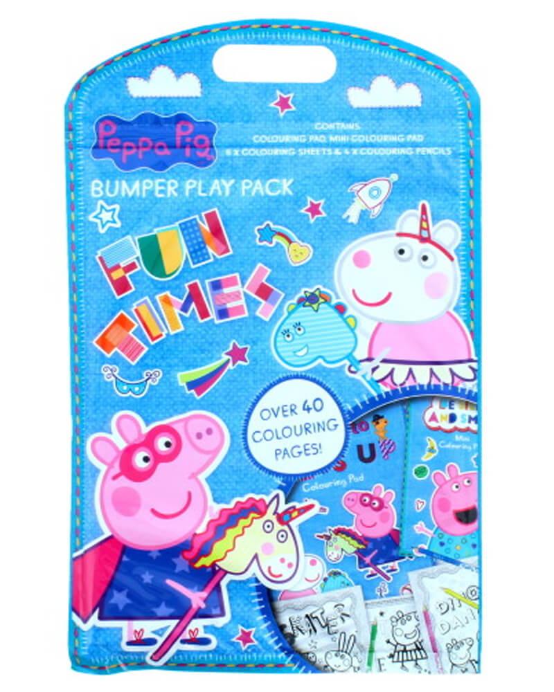 Peppa Pig Bumper Play Pack Coloring Book