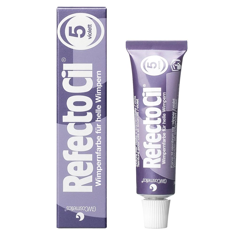 RefectoCil Eyelash And Eyebrow Tint 5 Violet 15 ml
