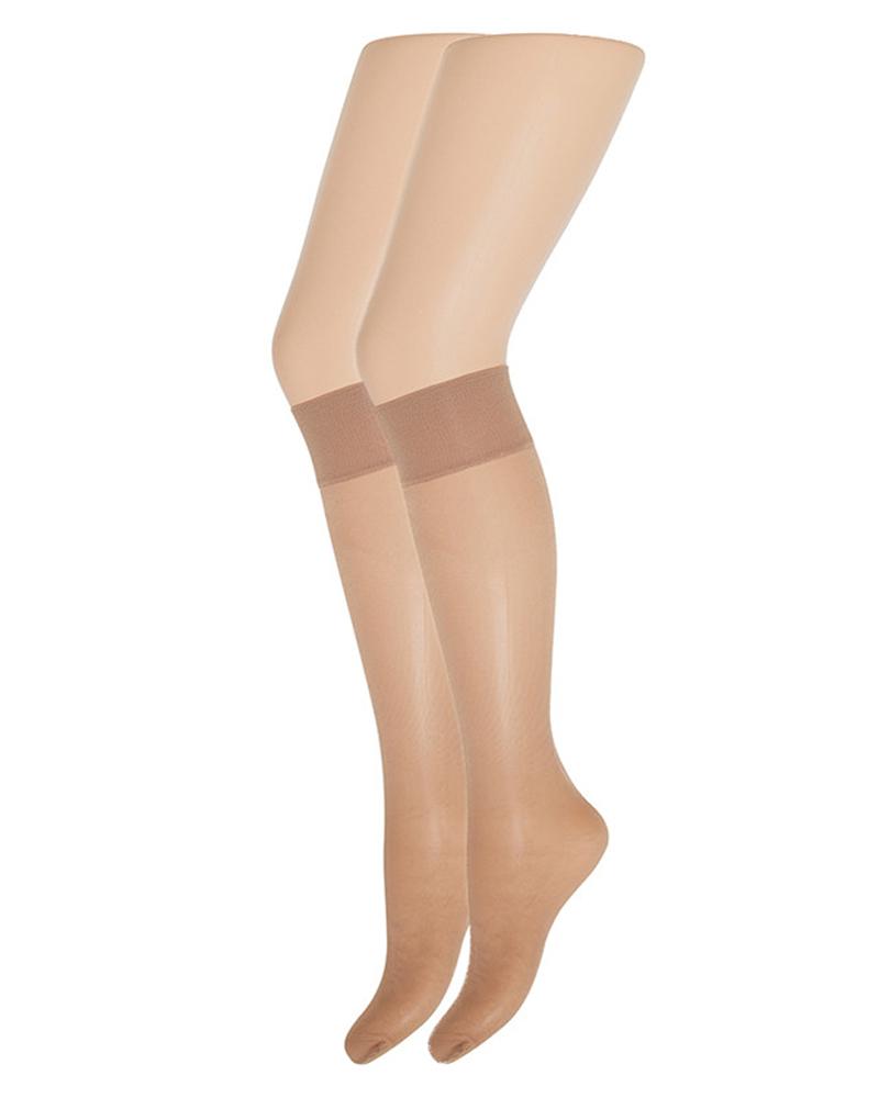 Decoy Soft Luxury Knee-High (15 Den) Bronzo