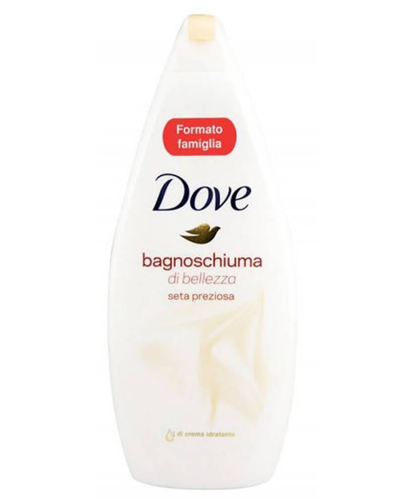 Dove Caring Bath Silk Body Wash 750 ml