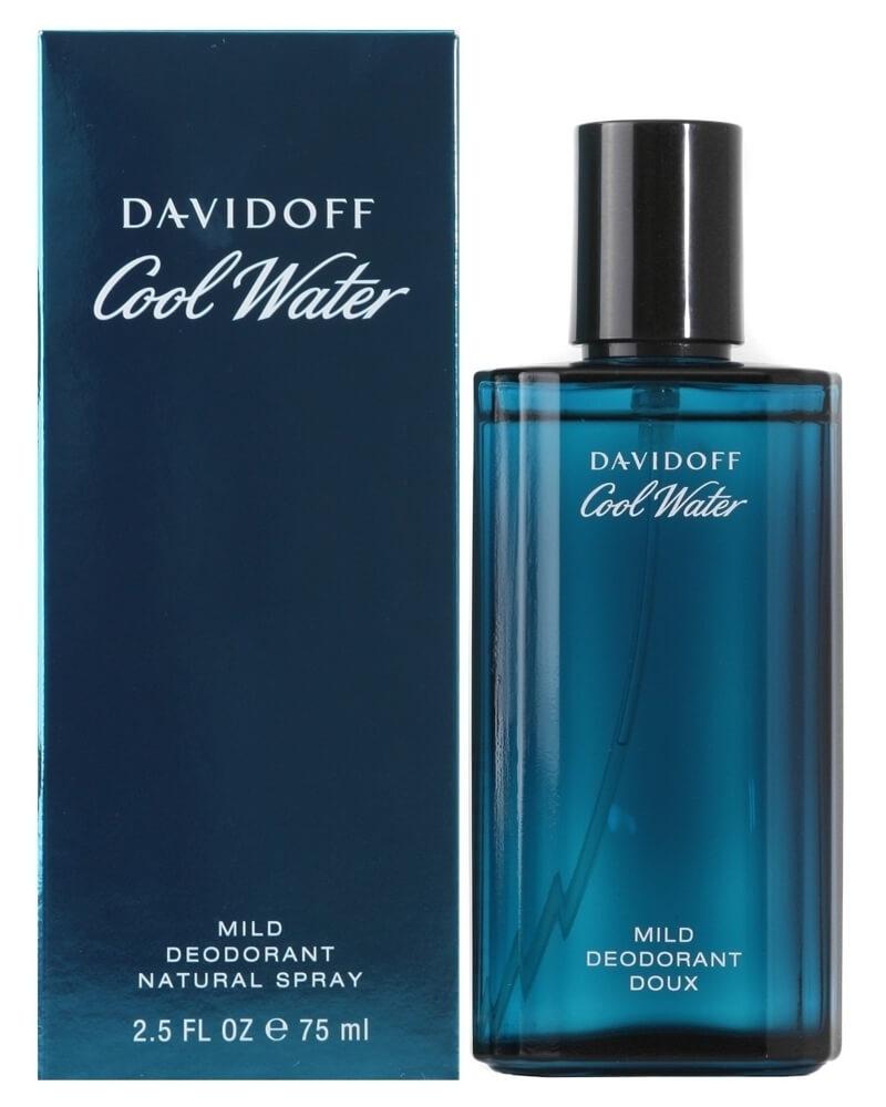 Davidoff Cool Water Mild Deodorant Natural Spray 75 ml