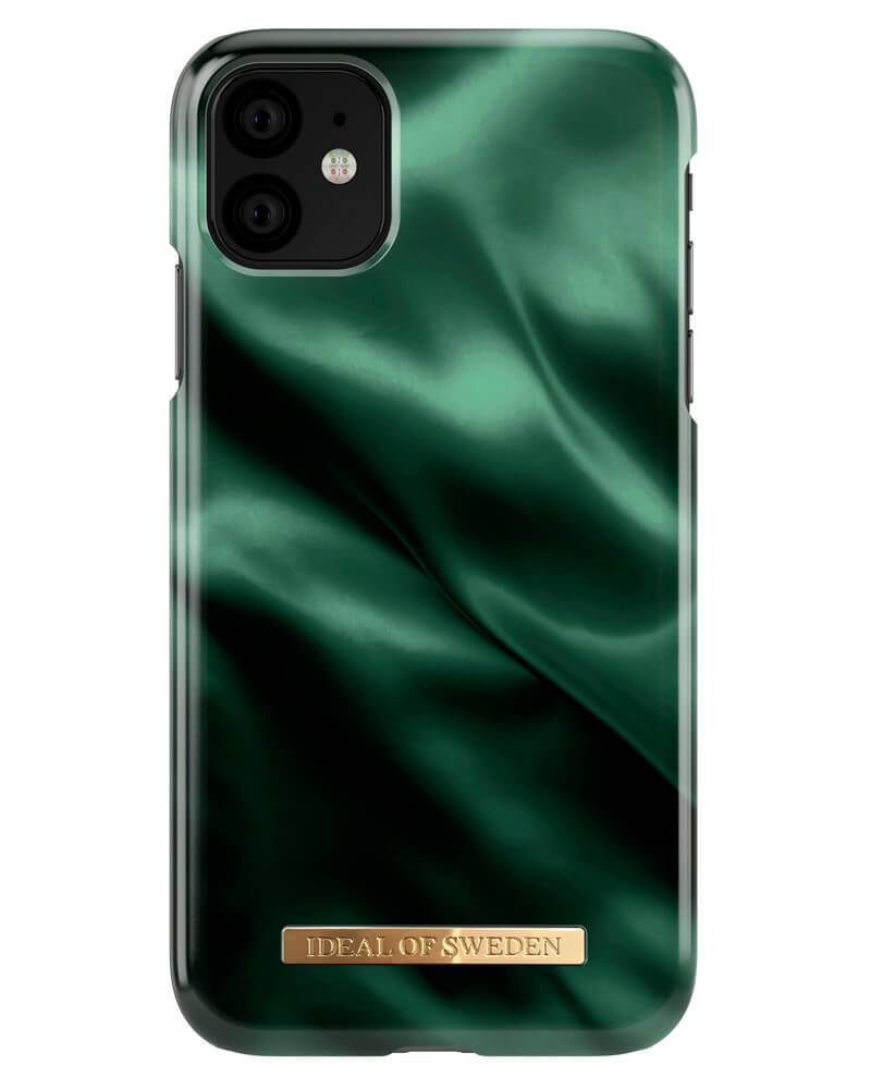iDeal Of Sweden Cover Emerald Satin iPhone 11/XR