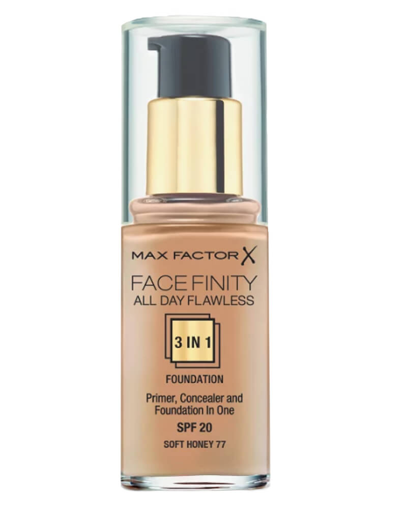 Max Factor Facefinity 3-in-1 Foundation Soft Honey 77 30 ml