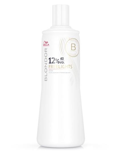 Wella Blondor Freelights Oxydant 12%, 40Vol 1000 ml