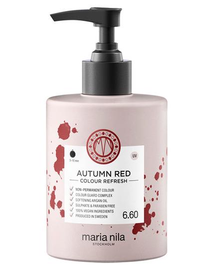 Maria Nila Colour Refresh Autumn Red 300 ml