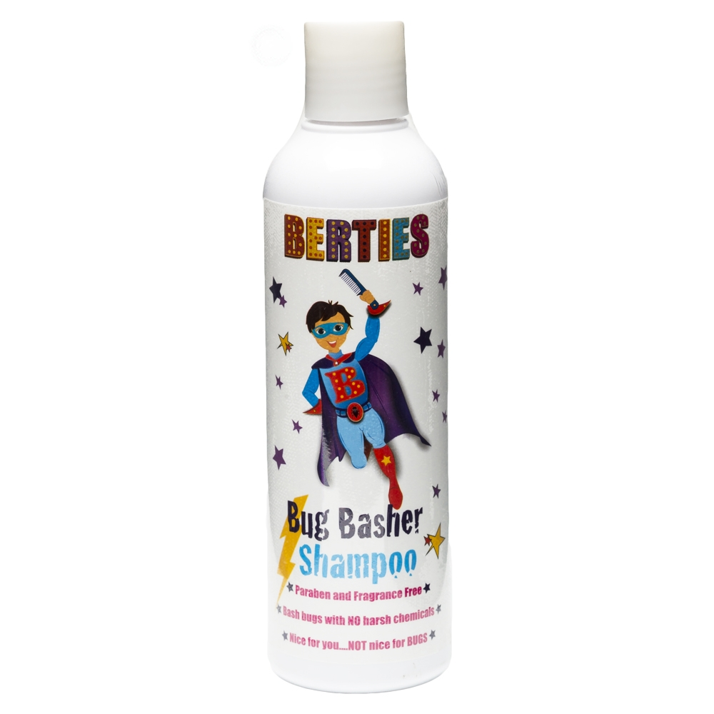 Berties Bug Basher Luse Shampoo 250 ml