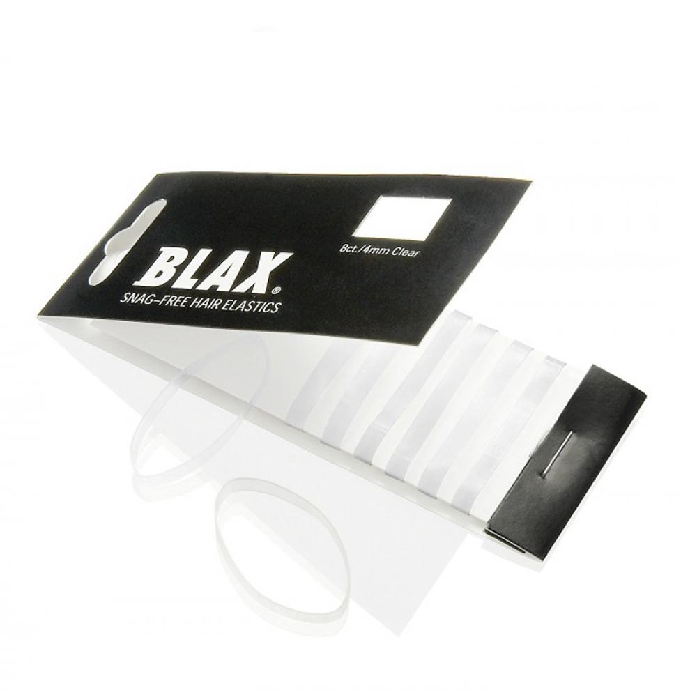 Blax - Snag-Free Hair Band CLEAR 4mm