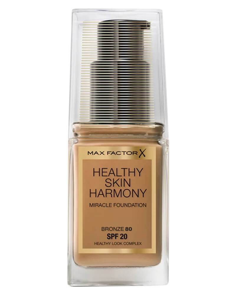 Max Factor Healthy Skin Harmony Foundation 80 Bronze 30 ml