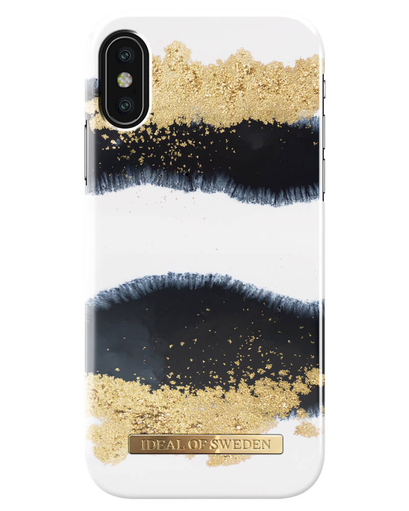 iDeal Of Sweden Cover Gleaming Licorice iPhone X/XS (U)
