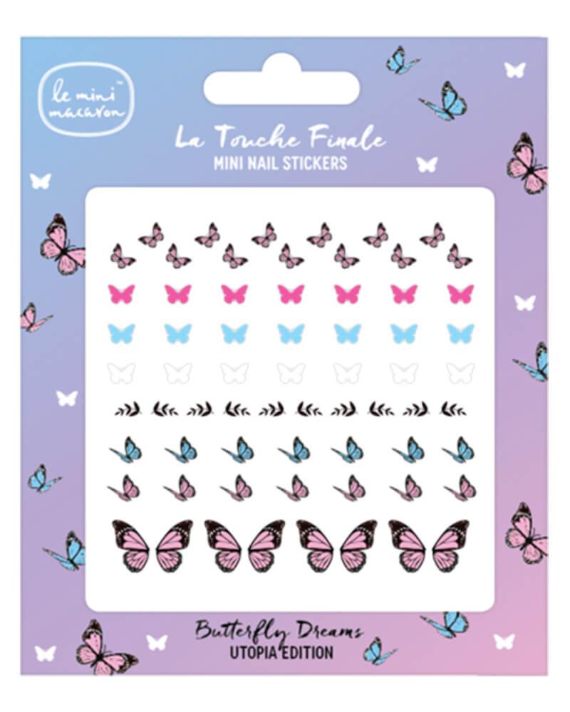 Le Mini Macaron Butterfly Dreams Nail Stickers