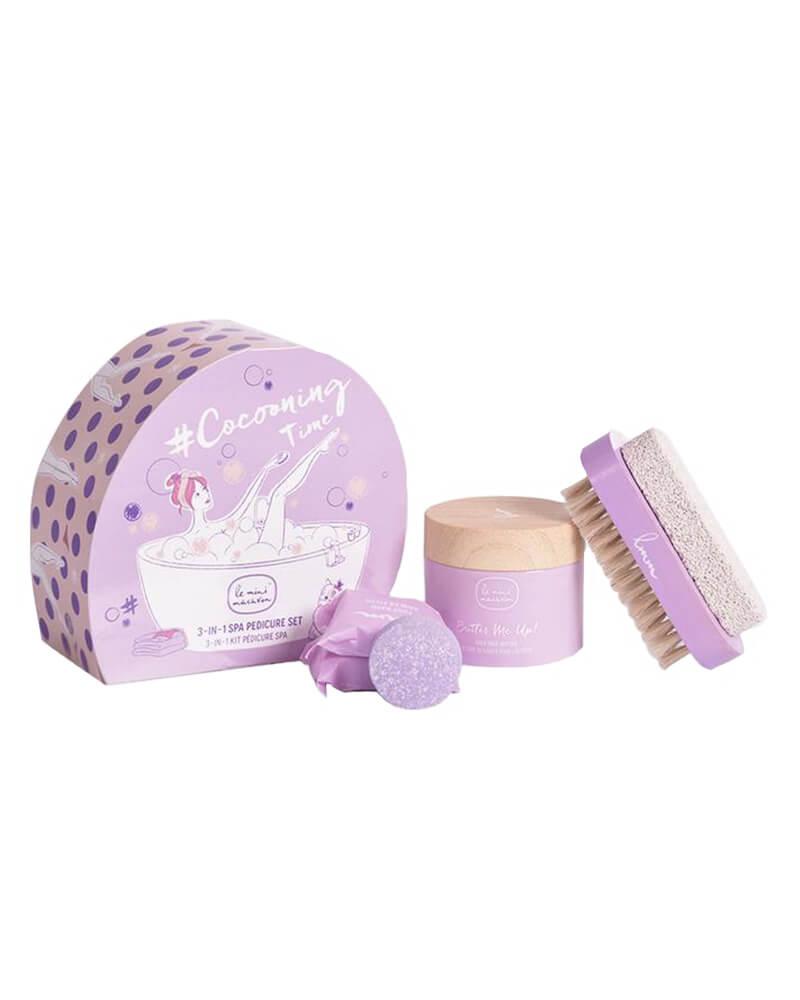 Le Mini Macaron Cocooning Time Spa Pedicure Kit