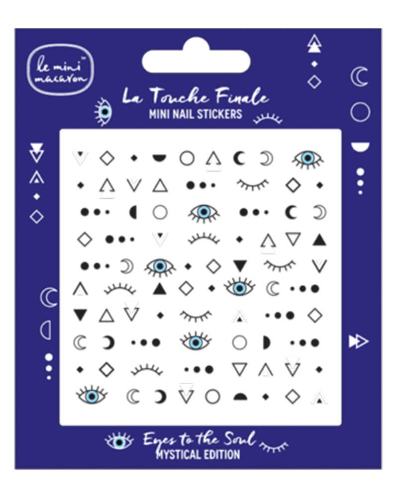 Le Mini Macaron Eyes To The Soul Nail Stickers