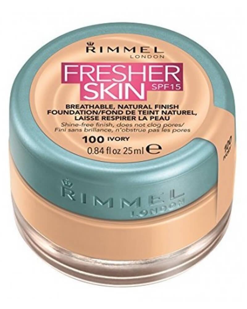 Rimmel Fresher Skin Foundation SPF15 100 Ivory 25 ml