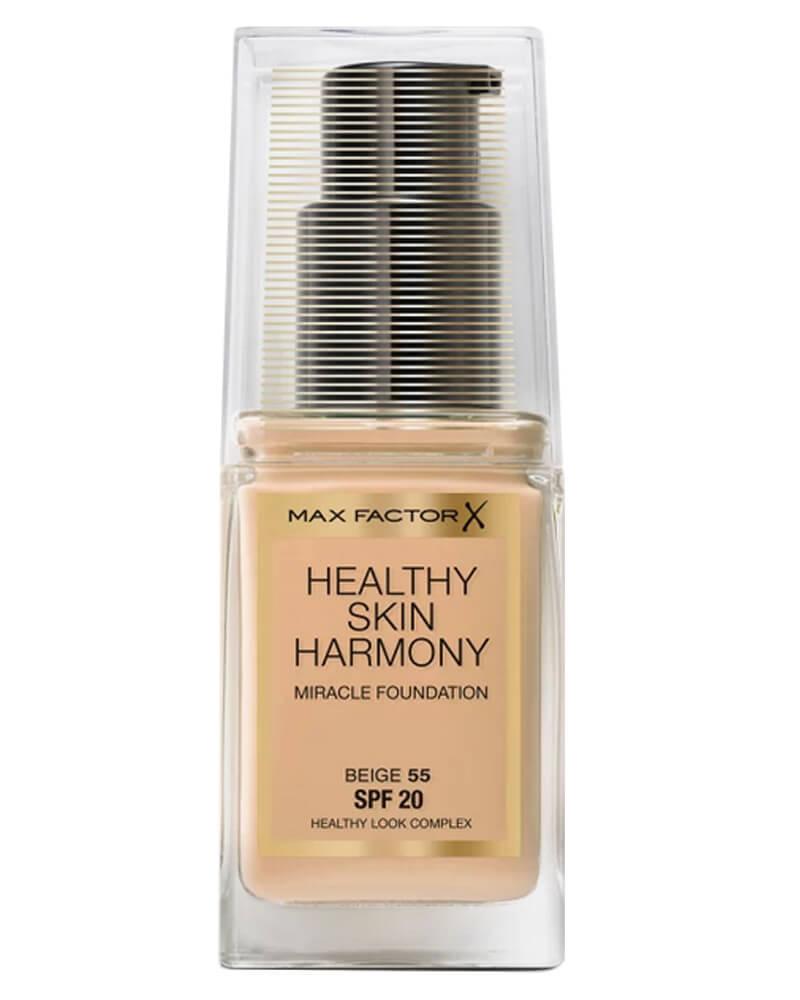 Max Factor Healthy Skin Harmony Foundation 55 Beige 30 ml