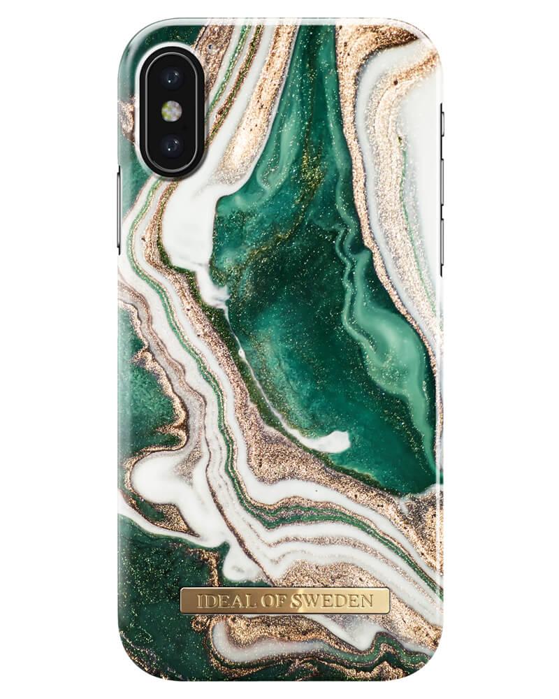 iDeal Of Sweden Cover Golden Jade Marble iPhone X/XS (U)