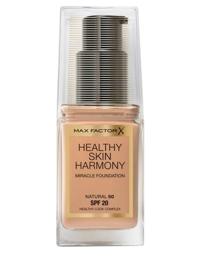 Max Factor Healthy Skin Harmony Foundation 50 Natural 30 ml