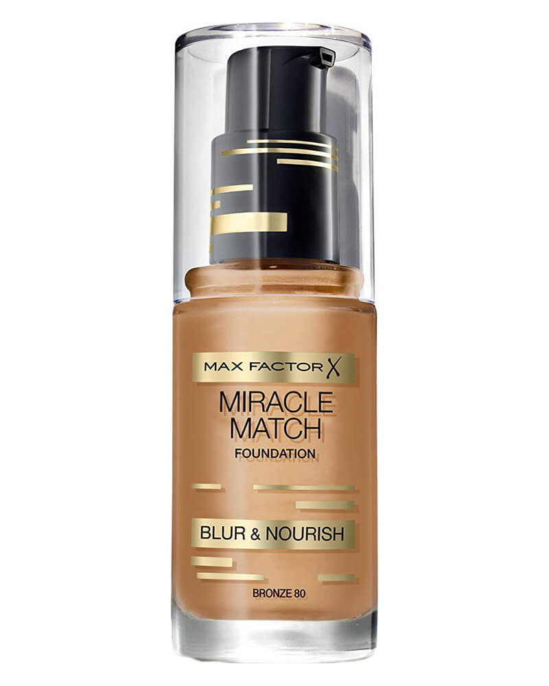 Max Factor Miracle Match Foundation Bronze 80 30 ml