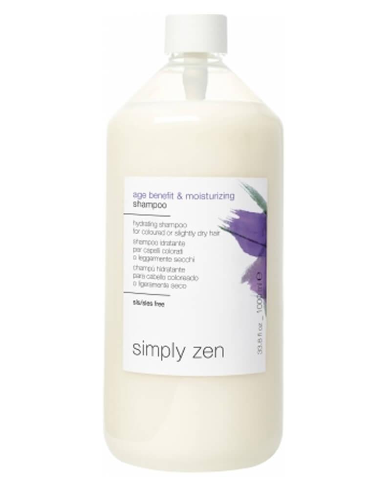 Simply Zen Age Benefit & Moisturizing Shampoo 1000 ml