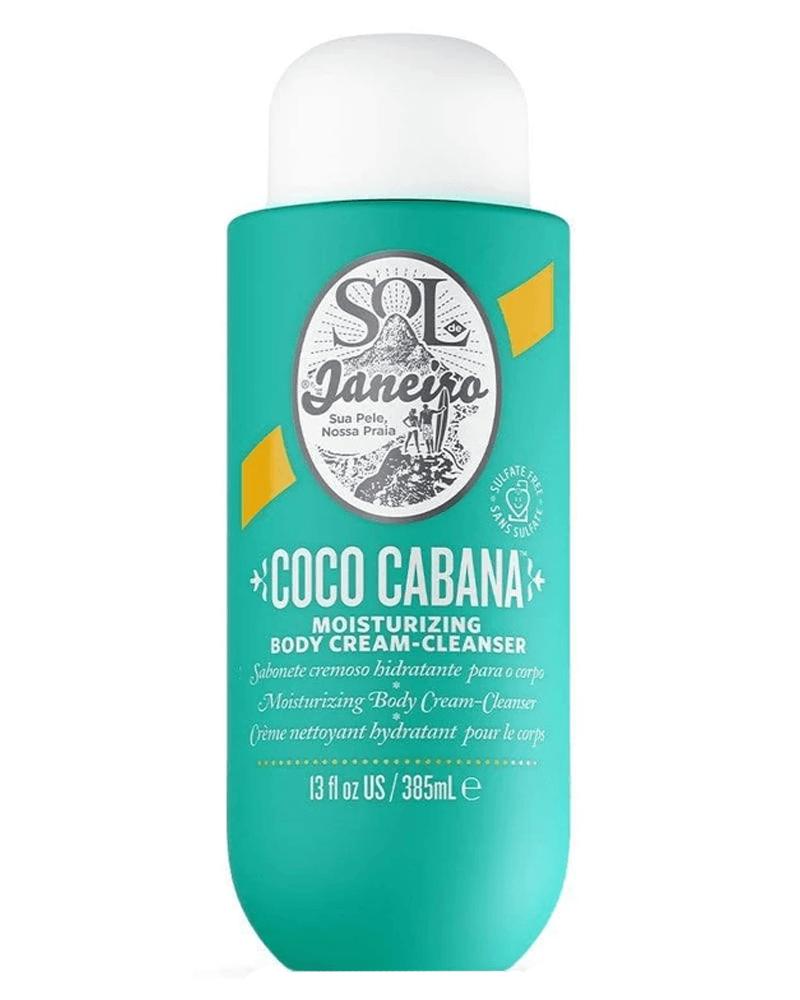 Sol De Janeiro Coco Cabana Moisturizing Body Cream-Cleanser 385 ml