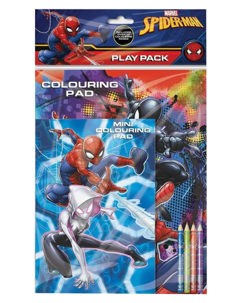 Marvel Spiderman Colouring Pad