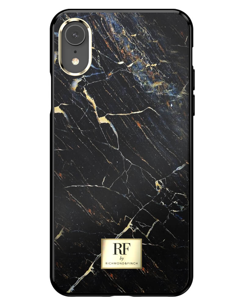 RF By Richmond And Finch Black Marble iPhone Xr Cover