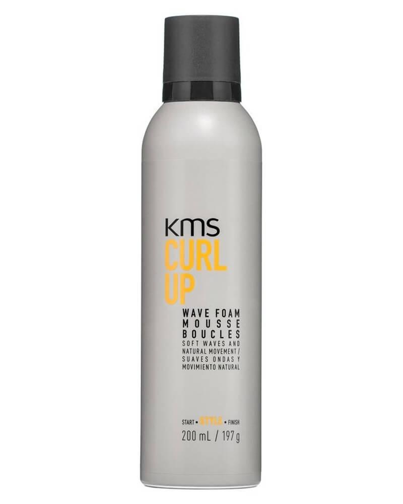 KMS Curlup Wave Foam Mousse 200 ml