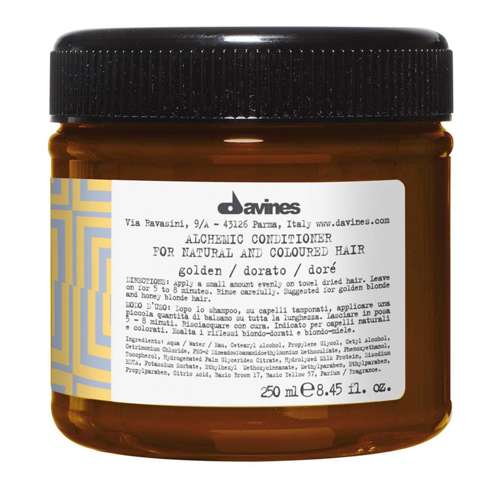 Davines Alchemic Conditioner - Golden (U) 250 ml