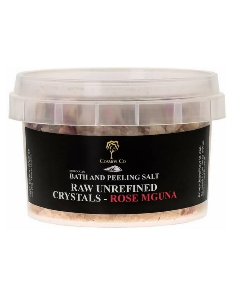 Cosmos Co Bath And Peeling Salt Raw Unrefined Crystals - Rose Mguna (U) 240 g