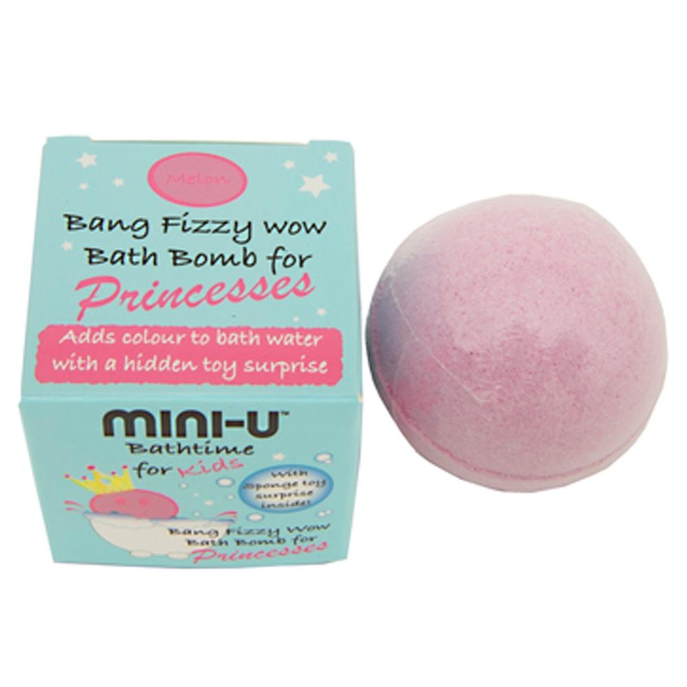 MINI-U Bath Bomb for Princesses Melon (Pink)