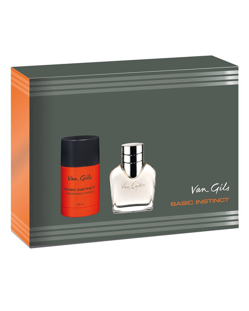 Van Gils Basic Instinct For Men Gavesæt 40 ml
