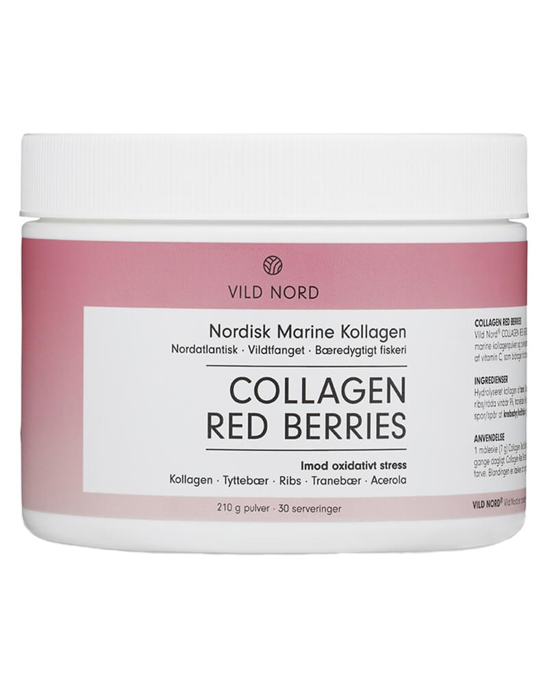 Vild Nord Collagen Red Berries 210 g